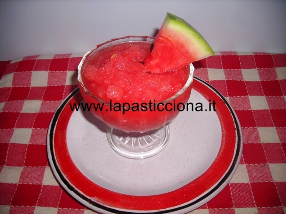 Granita all'anguria