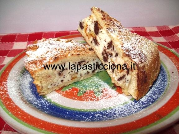 Cassata ( crostata ) di ricotta al forno