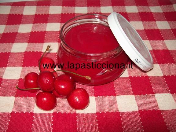 Gelatina di ciliegie