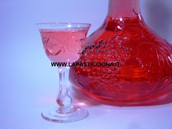 Liquore al lampone