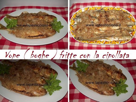 Vope ( boghe ) fritte con la cipollata 6