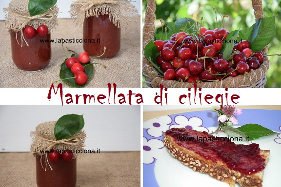 Marmellata di ciliegie 4