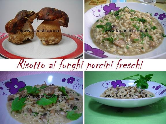 Risotto ai funghi porcini freschi 8