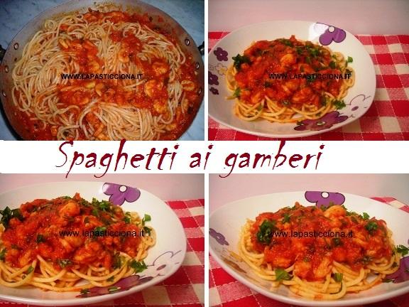 Spaghetti ai gamberi 8