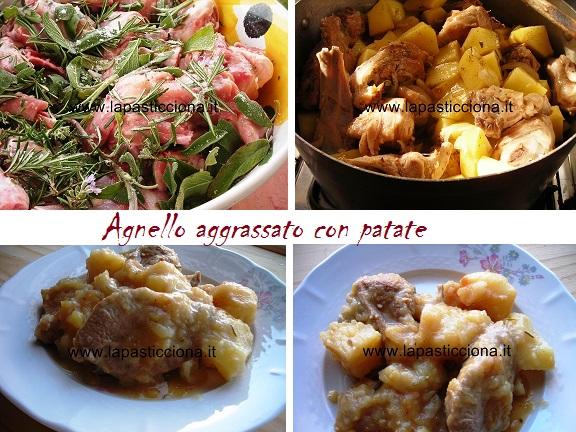 Agnello aggrassato con patate