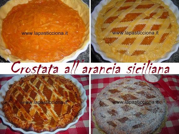 Crostata all'arancia siciliana 8