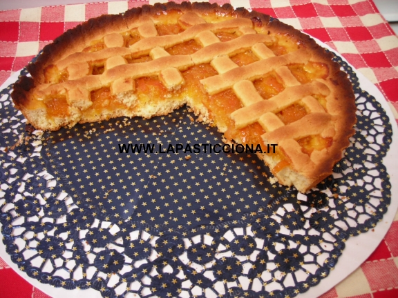 Crostata all'arancia siciliana