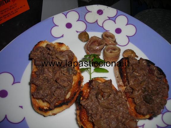 Crostini tostati con la milza 10