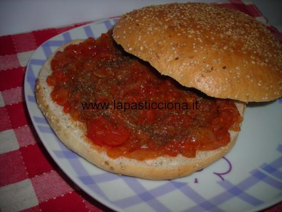 Muffuletta ( panini tondi) a sfincione 4