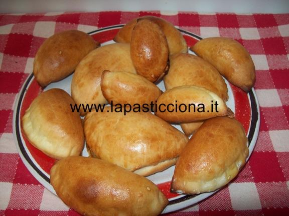 Panzarotti con crema