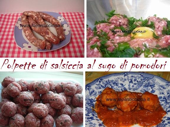 Polpette di salsiccia al sugo di pomodori 8