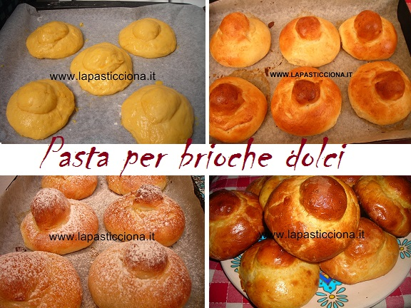 Pasta per brioche dolci 8