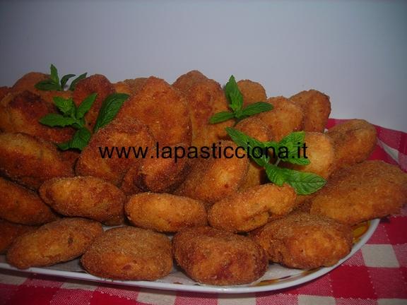 Polpette di melanzane tunisine (viola)
