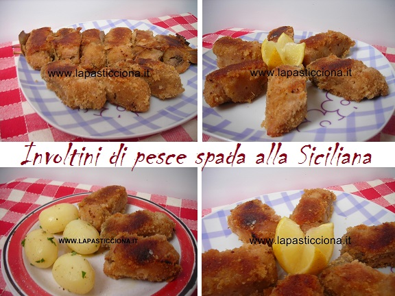 Involtini di pesce spada alla Siciliana 2