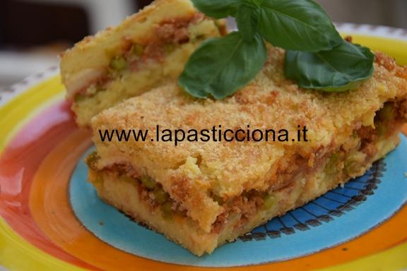Gattò (Gateau) di patate con ragù alla siciliana 7