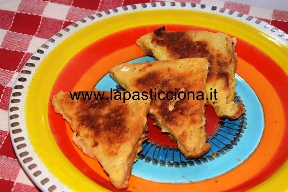 Mozzarella in carrozza al forno 13