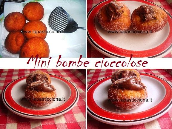 Mini bombe cioccolose 6