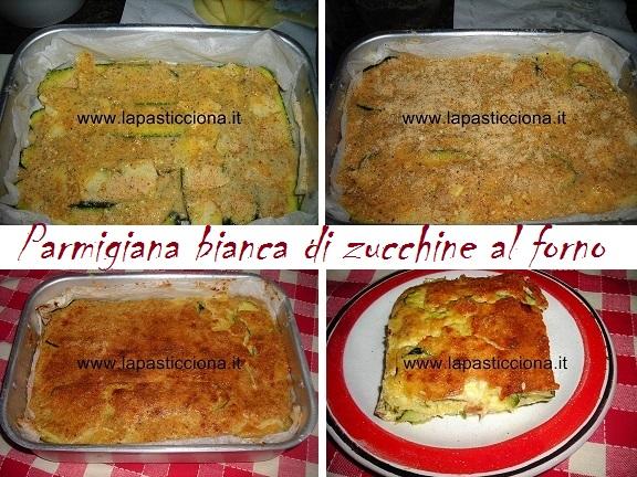 Parmigiana bianca di zucchine al forno 8