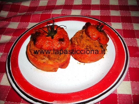 Pomodori ripieni al forno 9
