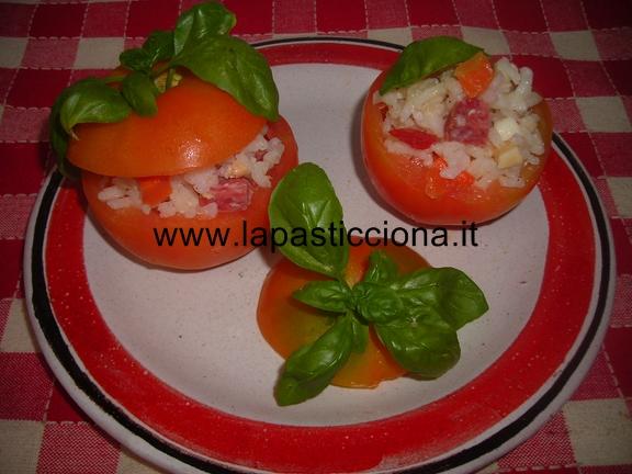 Pomodori ripieni di riso 7
