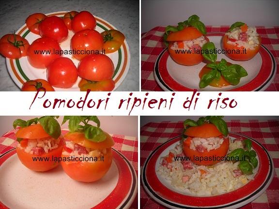 Pomodori ripieni di riso 8