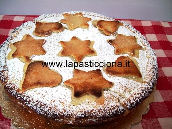Crostata di mele con crema pasticcera 7