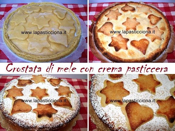 Crostata di mele con crema pasticcera 8