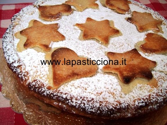 Crostata di mele con crema pasticcera 9