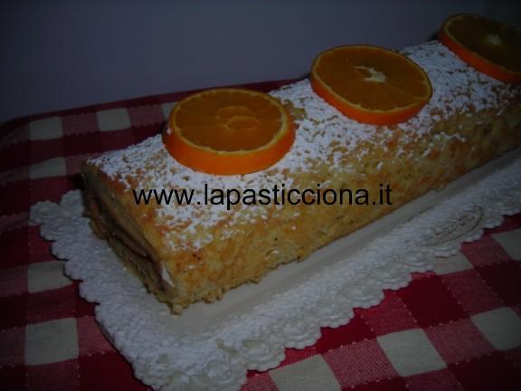 Rotolo con crema all'arancia 9