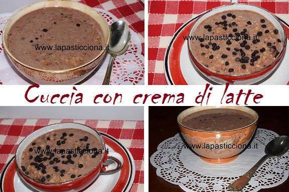 Cuccìa con crema di latte 3