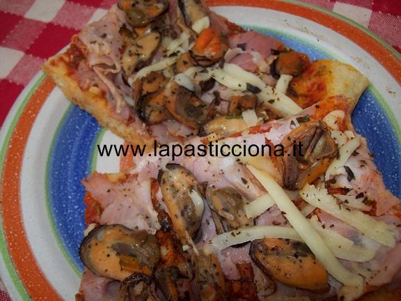 Pizza alla marinara con le cozze 9