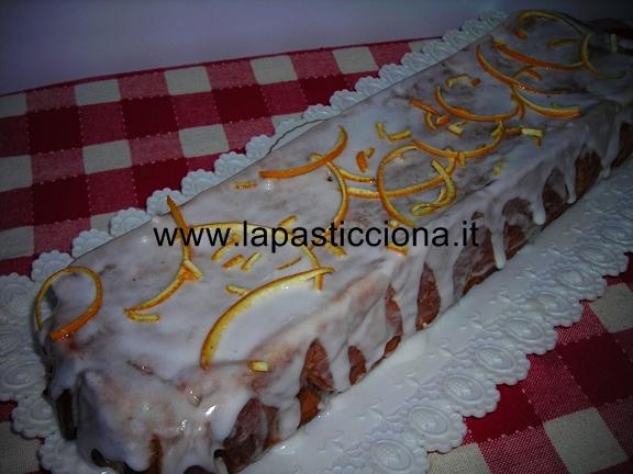Plum-cake di carote e pere