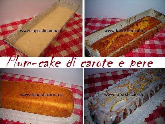 Plum-cake di carote e pere 8