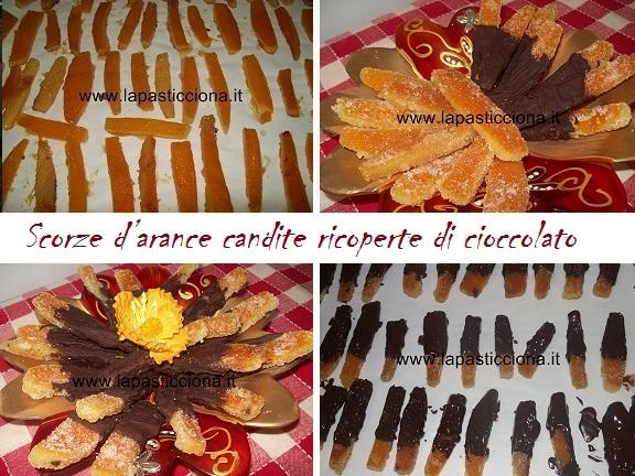 Scorze d'arance candite ricoperte di cioccolato fondente 11
