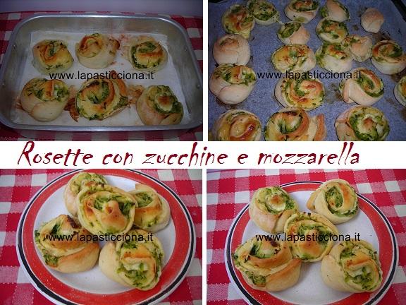 Rosette con zucchine e mozzarella 7