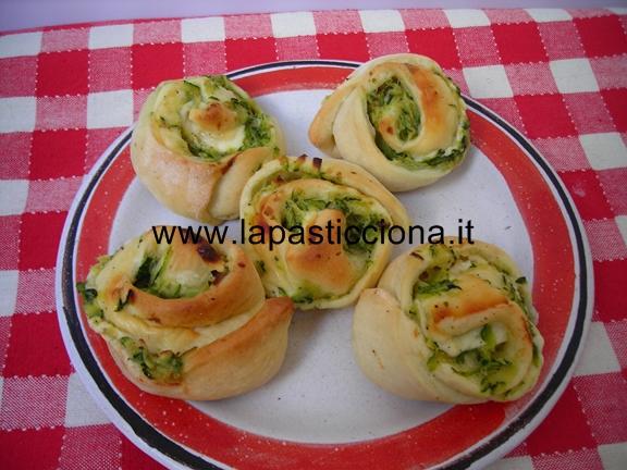 Rosette con zucchine e mozzarella 8