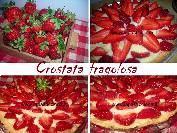 Crostata fragolosa