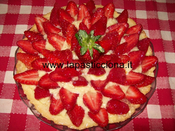 Crostata fragolosa 13