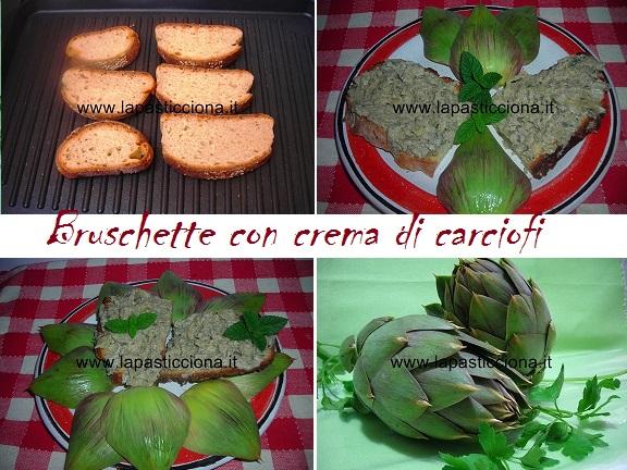 Bruschette con crema di carciofi 8