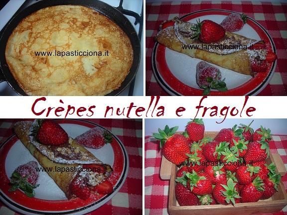 Crèpes nutella e fragole 8