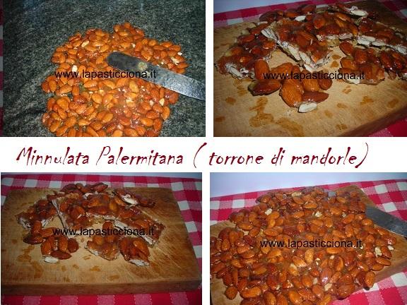 Minnulata Palermitana ( torrone di mandorle) 8