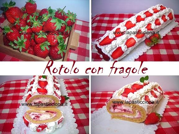 Rotolo con fragole 10