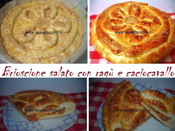 Brioscione salato con ragù e caciocavallo 8