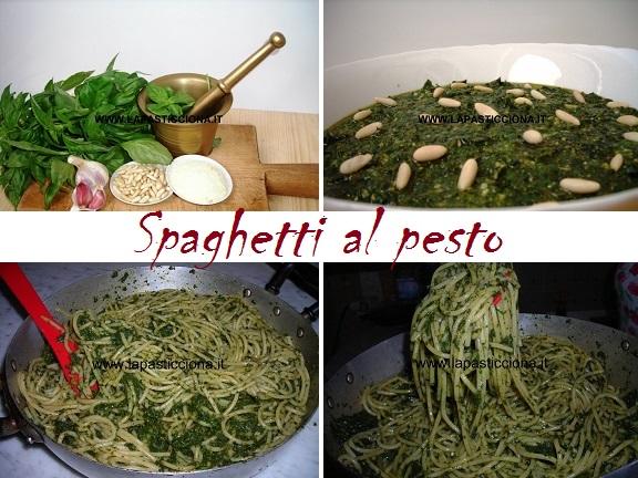 Spaghetti al pesto 8