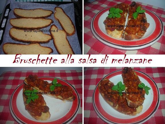 Bruschette alla salsa di melanzane 8