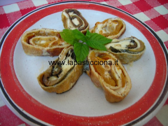 Roll di frittata ai peperoni 3
