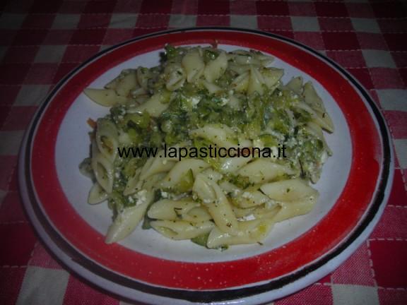 Pennette-con-zucchine-e-ricotta