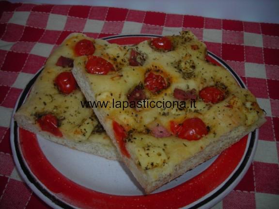 Focaccia con pomodorini 4