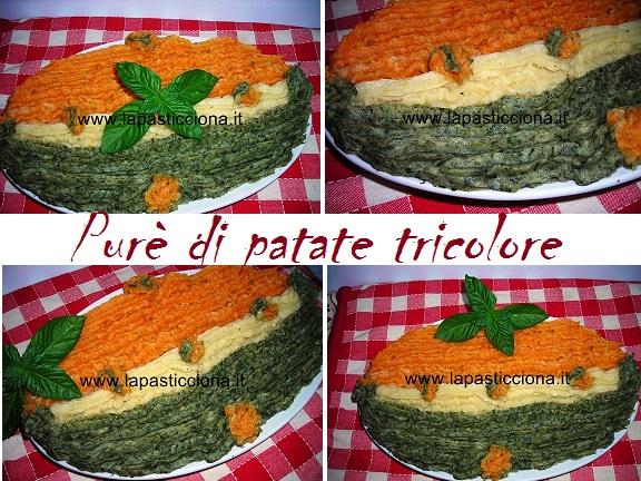 Purè di patate tricolore 8