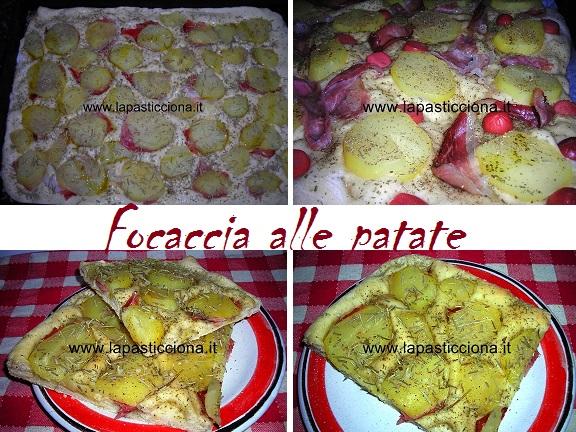 Focaccia alle patate 6